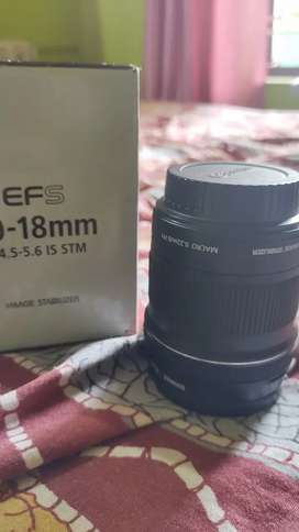Canon 10-18 Stm lense