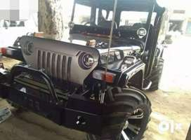 Modified hunter thar look led lights jeep
