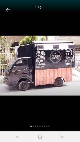 Unused Premium food truck for sale made on tata ace.
