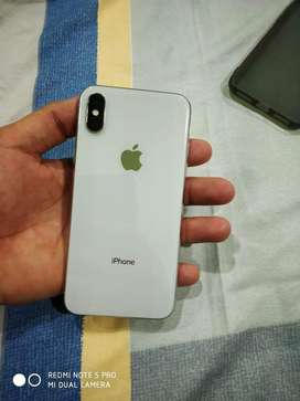 I Phone X white 64gb Excellent condition Urgent sell.