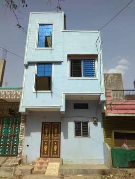 Complete 2 porsion house for sale in housing board colony karod