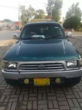 Urgently sale Toyota pickup D/cabin Model 1998