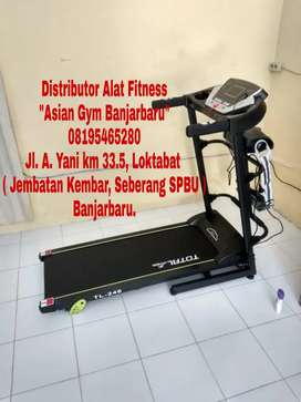 Ready Treadmill Elektrik 3 Fungsi