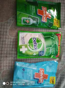 Handwash available savlon dettol