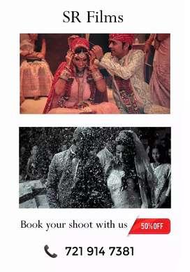 Photography & Cinematography - Wedding, Pre-Wedding,Events,parties etc