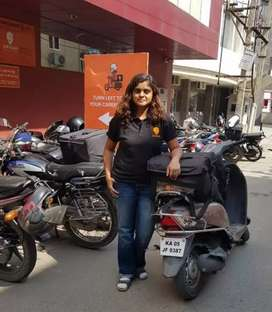 Urgent hiring swiggy food delivery executive call me on 8l87869490