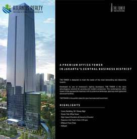 office space at jakarta, the tower office building