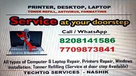 Printer desktop laptop Repair or service at ur home or office