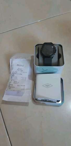 Fossil CH 3080 Chronograph Gray Silicone Watch