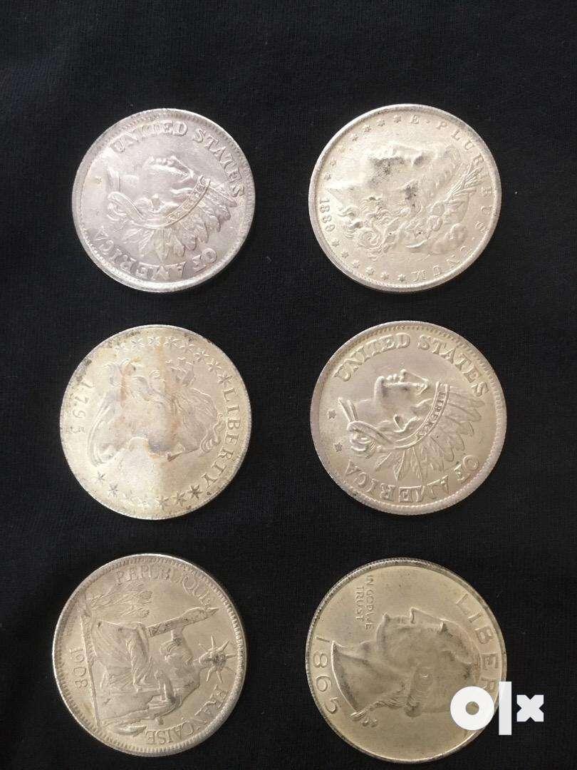Silver us coin 3000 rs each 0