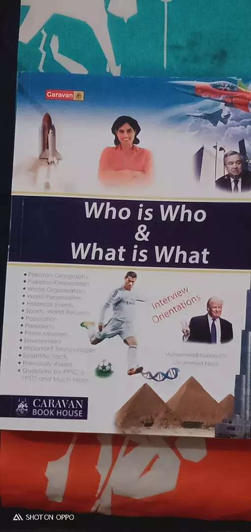 Who is who what is what by Caravan book house