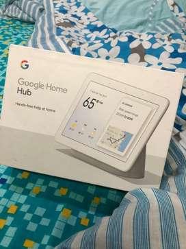 Google Home Hub wd 8'inch screenin seal pack cndtn