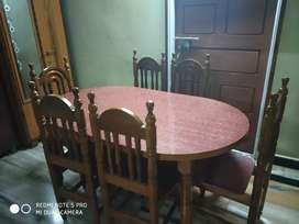 Teak wood dining table for sell