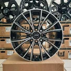Velg AMW Monaco R15x7 h4x100/114.3 ET 35 untuk mobil Jazz Brio Yaris