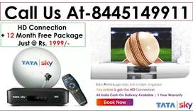 Fire Stick Free+ Tata sky DTH -Airtel Dish tv D2H Tatasky - All India