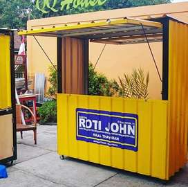 Booth Kontainer, Container,Gerobak Kontener
