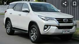Fortuner booking for doli