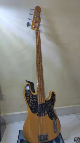Bass Squier classic vibes precision 50s