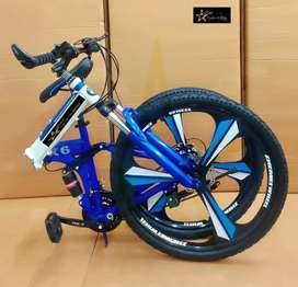 Brand New Foldable Cycles With 21 Speed Gears