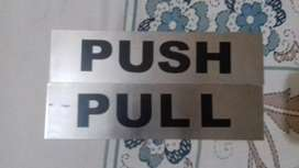 Push and Pull Door tags
