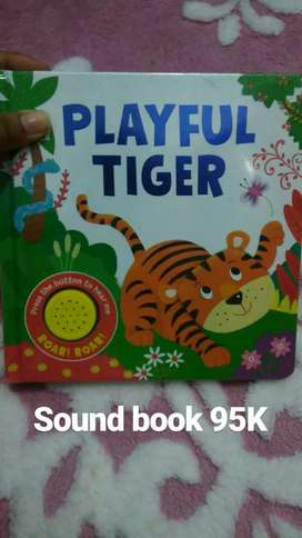 Sound book playful tiger