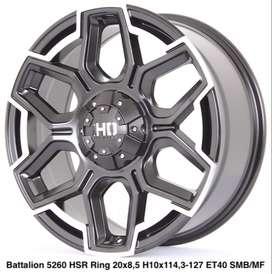 PROMO 0% BATTALION 5260 HSR R20X85 H10X114,3-127 ET40 SMBMF