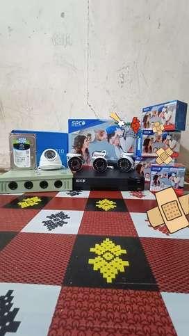 KAMERA CCTV 4CH SPC 2MP HD RESOLUSI 1080