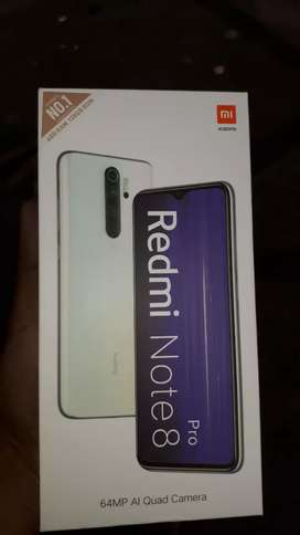 REDMI NOTE 8 PRO 6GB 128GB ALL SEALPAC