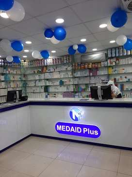 Shift incharge required for pharmacy in valencia town