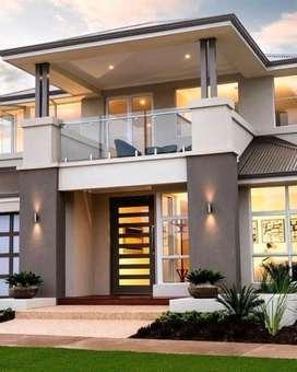 सामग्री की सही गुणवत्ता के साथ अपना मकान बनवाने के लिए सम्पर्क करे.