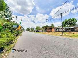 Dijual Tanah di Tepi Jalan Kaliurang km 15 Cocok Gudang Utara UII