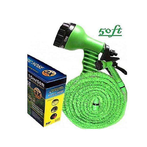 Hose Water Pipe For Garden & Car Wash - 75ft - Blue 0