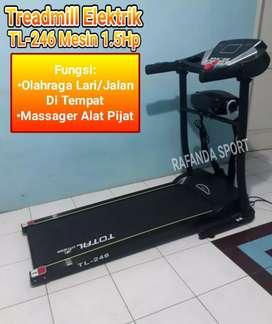 Alat Olahraga Lari Treadmill Elektrik 2in1 Type TL-245