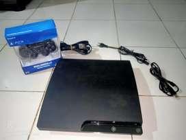 PS3 Slim 500 GB Warna hitam