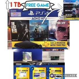 PS4 Slim 1TB Hits Bundle Game