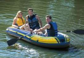 New Intex challenger 3 boat for three persons