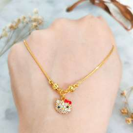 New Kalung Miss World Infinity Happy Friend Emas asli model elegan