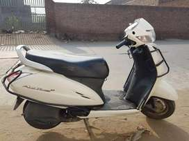 Activa 2016 White Color, Immaculate Condition For Sale