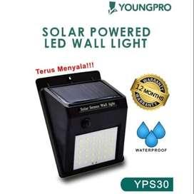 Lampu Taman Tembok Dinding 30 LED Tenaga Solar Matahari Surya Outdoor
