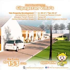 Rumah Minimalis Harga Ekonomis Cipageran Villas Tahap II Mari Booking