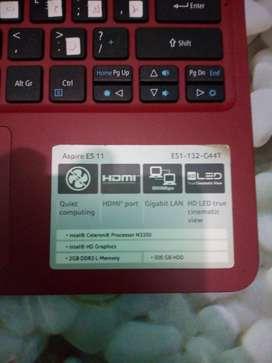 Dijual laptop Acer Aspire ES 11