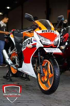 Honda CBR 150 Repsol 2016.Km22rb.Plat N Asli.Pajak Baru.Warno Mustika
