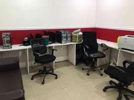 1 cabin 7 workstation