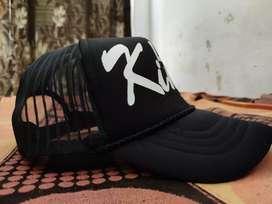 Printed Black CAP(Brand New)