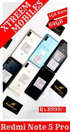 Redmi Note 5 Pro..4/64..Multi Colour Available..