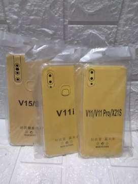 WAH PROMOO-ANTI CRACK BENING PELINDUNG HP VIVO V15 V11i V11 PRO -BARU