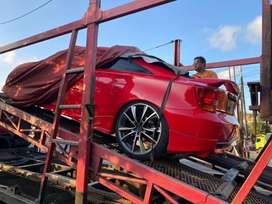 Toyota Celica red on black full audio
