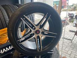 17inch vossen rims michelin tyres for civic