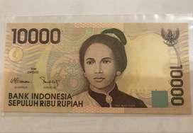 Jual Uang Kuno 10.000 Tjut Nyak Dhien Tahun 1998