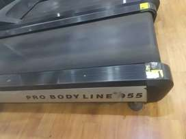 Commercial treadmill and cross trainer